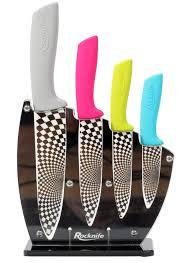 multi coloured ceramic knife set rocknife ceramic knives