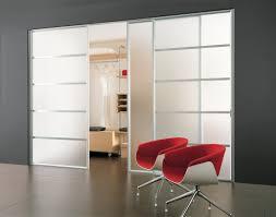 Sliding Closet Doors White Interior Extraordinary Modern Home Interior Design Using Glass