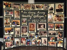 memory board for funeral pinteres