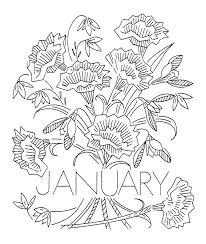 Win With Flower by Vintage Flower Of The Month Transfers U2013 Q Is For Quilter