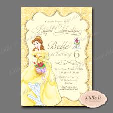 Where To Buy Birthday Invitation Cards Belle Invitation Belle Birthday Invitation Belle Party