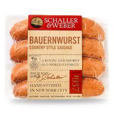 bauernwurst schaller u0026 weber