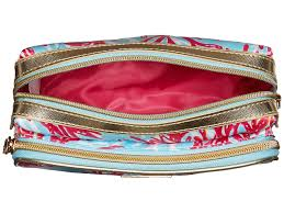 lilly pulitzer make it cosmetic case in blue lyst