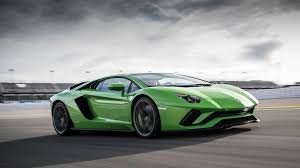 Green Lamborghini Aventador - 2017 lamborghini aventador s review with price horsepower and