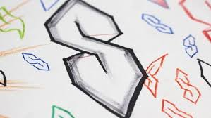 the story behind the pointy s symbol you drew in high