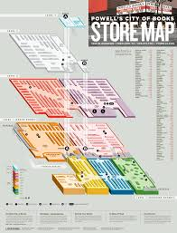 Maps Portland by Powell U0027s City Of Books Travel Portland