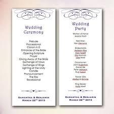 20 best diy wedding program templates instant download images on