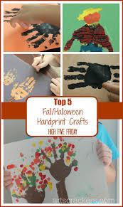 handprint halloween craft top 5 halloween fall handprint crafts high five friday