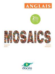 derniere enseigne majeure a quitter calaméo anglais mosaics 2nde bac pro module eg2