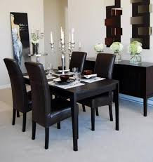 black and white dining room the man cave