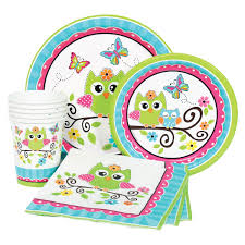 birthday party supplies owl 1st birthday party supplies at dollar carousel