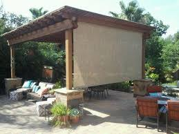 Mosquito Netting Patio Roll Shade Pergola Patio Neat Idea In Lieu Of Mosquito Netting