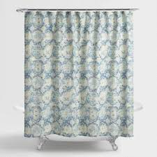 Orchid Shower Curtain Shower Curtains U0026 Shower Curtain Rings World Market