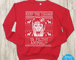 home alone sweater etsy