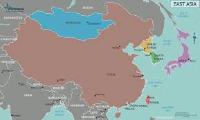 East Asia Blank Map by Course World Cultures Cyber