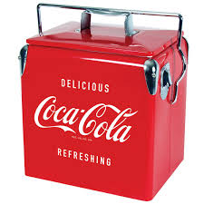 Coleman Stainless Steel Cooler Costco by Koolatron Coca Cola 13 L 13 7 Qt Vintage Ice Chest Cooler
