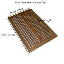 Patio Door Mat Wood Outdoor Door Mat