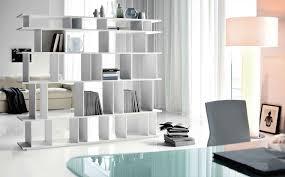 bookcase modern white bookcase
