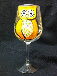 martini glass painting wine glass painting options let u0027s fiesta