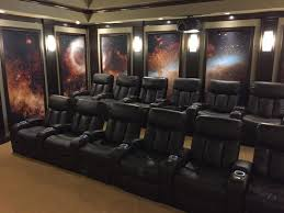 creating a home theater room space age home theater sets the entertainment bar high