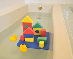 Lead Bathtub Non Toxic Floating Waterproof Foam Blocks Bathtub Toys For