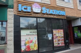 ice station new rolled ice cream shop opening in uptown uptown