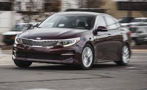 2016 kia optima 2 4l instrumented test u2013 review u2013 car and driver