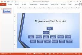 organization chart template powerpoint free download mershia info