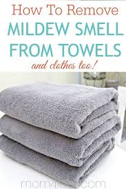 Mold Smell In Bathroom How To Remove Mildew Smell From Towels And Clothes Towels