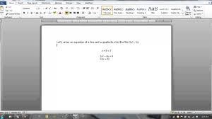 resource word equation editor basics