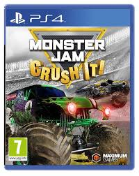 monster truck video games monster jam crush it ps4 amazon co uk pc u0026 video games