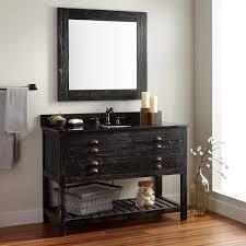 under sink wooden cabinet bathroom storage unit for towels benevola