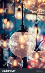 beautiful retro luxury light lamp decor stock photo 361201517