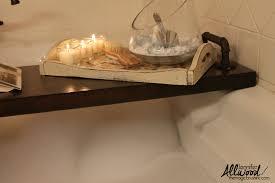 diy bath caddy also known as bath tray bath shelf u0026 toy holder