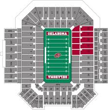 Ohio State Parking Map by Gaylord Family Oklahoma Memorial Stadium The Official Site Of