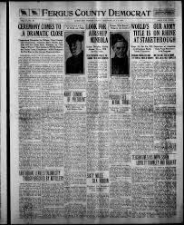 montana cers floor plans fergus county democrat lewistown mont 1904 1919 july 03 1919