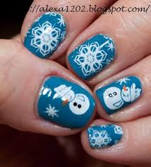 86 best images about winter christmas nail art on pinterest nail