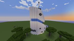 futuristic house based on a drawing i did a while ago minecraft