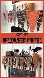 no sew halloween mantel decor mantels halloween parties and