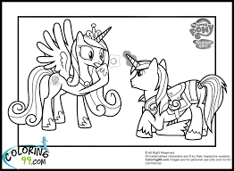 my little pony shining armor coloring pages getcoloringpages com