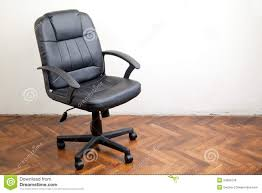 Black Leather Office Chairs Black Leather Office Chair Royalty Free Stock Image Image 34693136