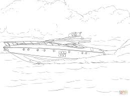 speed boat coloring page free printable coloring pages