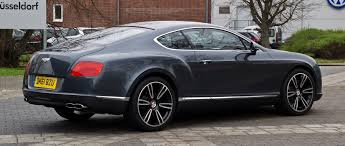 bentley v8s file bentley continental gt v8 ii u2013 heckansicht 5 april 2012
