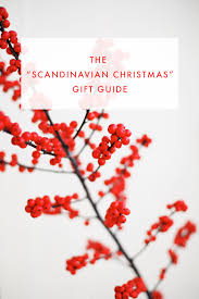 scandinavian christmas gift guide