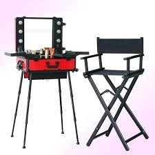 portable makeup chair lot lighting makeup table with portable