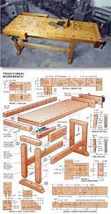 Free Wood Workbench Designs by Best 25 Woodworking Bench Ideas On Pinterest Garage Workshop
