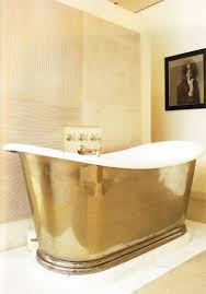 gold leaf home decor brass tub u0026 a photo of patti smith homedecor bathroom