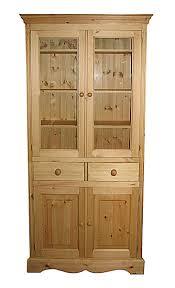 with adjustable shelves and doors u2013 kerris farmhouse pine