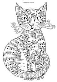 cat coloring page by miedzykreskami on etsy coloring pages