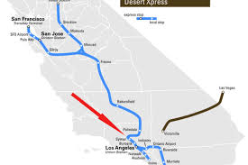 Las Vegas Terminal Map by Bullet Train Could Be A Problem For Santa Clarita Home Sales